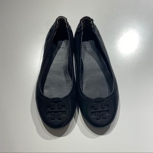 ToryBurch MINNIE TRAVEL BALLET FLAT, LEATHER